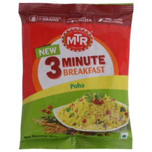 MTR 3 Minute Breakfast Instant Poha