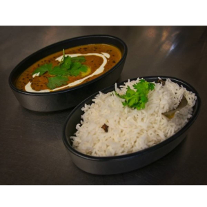 Exaatic Dal Makhni With Rice